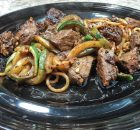 Low Sodium Garlic Steak Zucchini Noodles