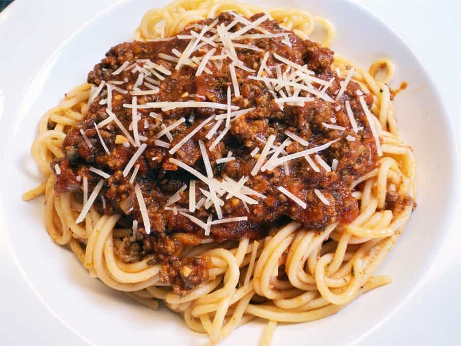 Meaty low sodium spaghetti sauce