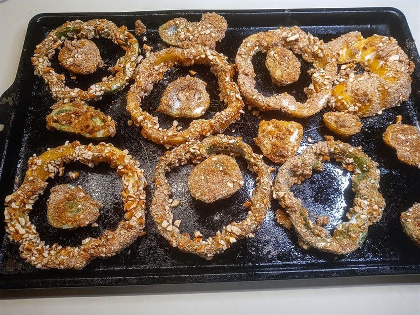 Rings just out of the oven